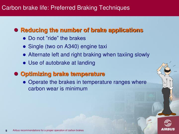 Carbon brake life: Preferred Braking Techniques