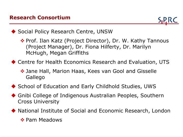 Research Consortium