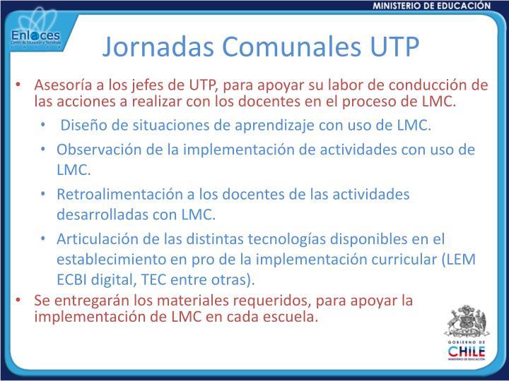 Jornadas Comunales UTP