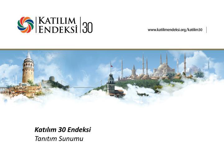 Katılım 30 Endeksi