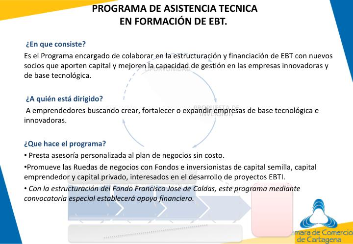 PROGRAMA DE ASISTENCIA TECNICA