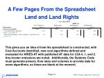 land and land rights