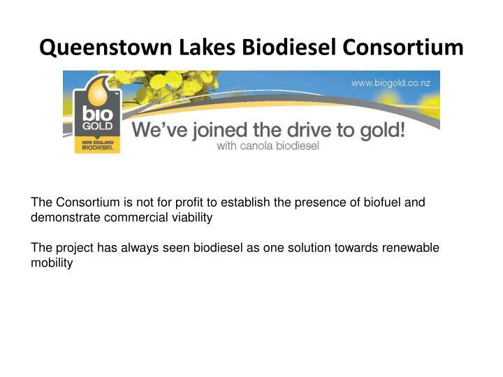Queenstown Lakes Biodiesel Consortium