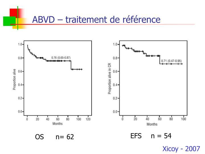 ABVD – traitement de référence