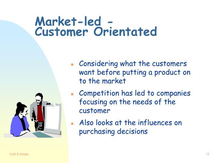 Market-led -