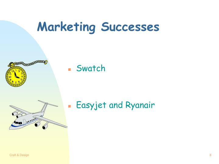 Marketing Successes