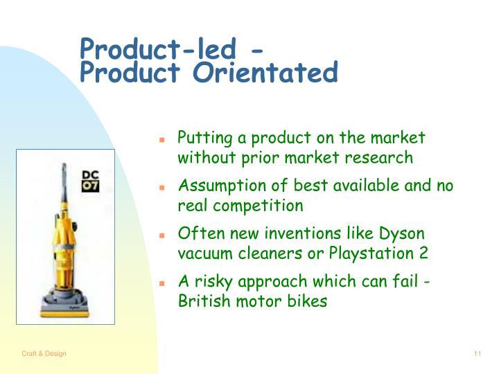 Product-led -