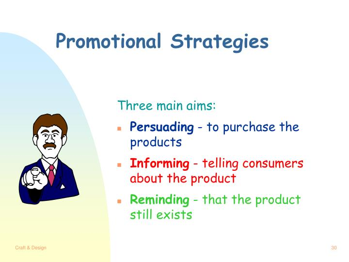 Promotional Strategies