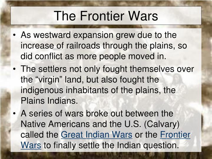 The Frontier Wars