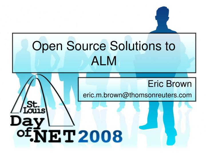 open source solutions to alm
