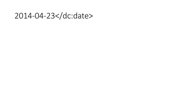 2014-04-23</dc:date>