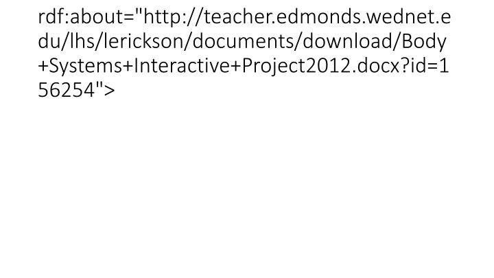 "<item rdf:about=""http://teacher.edmonds.wednet.edu/lhs/lerickson/documents/download/Body+Systems+Interactive+Project2012.docx?id=156254"">"