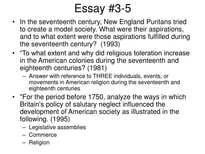 Essay #3-5