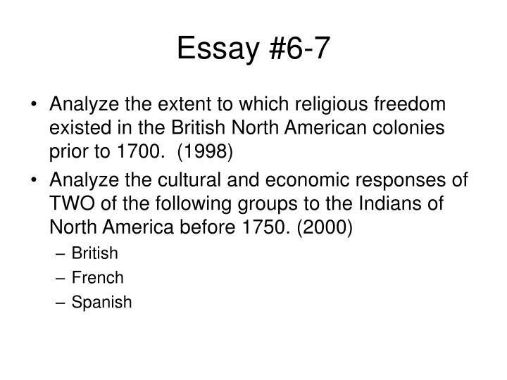 Essay #6-7