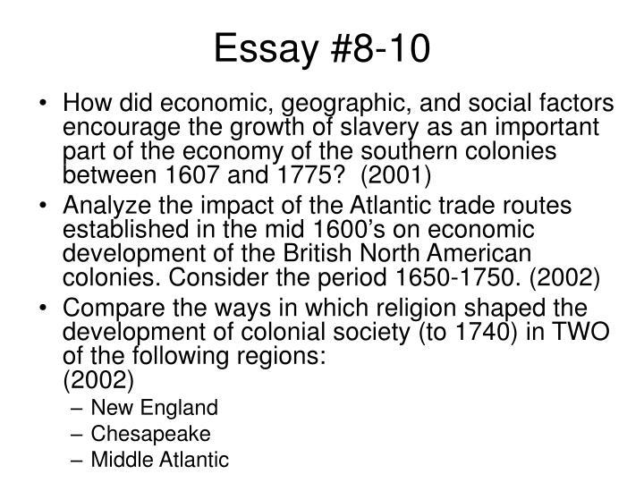 Essay #8-10