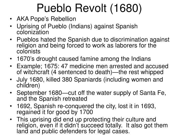 Pueblo Revolt (1680)