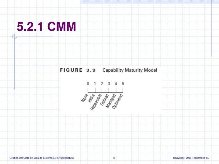5.2.1 CMM