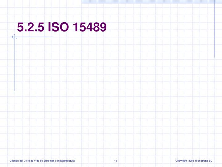 5.2.5 ISO 15489