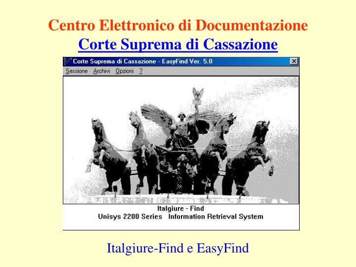 Centro Elettronico di Documentazione