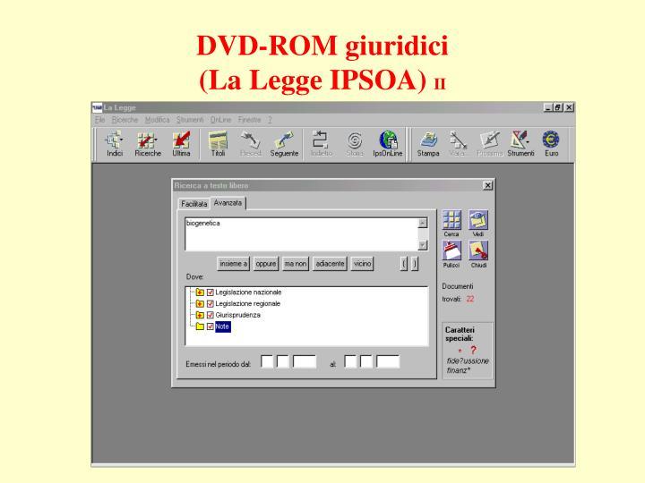 DVD-ROM giuridici