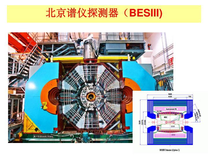 北京谱仪探测器(