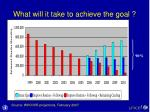 what will it take to achieve the goal3