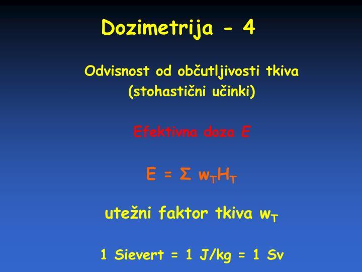 Dozimetrija - 4