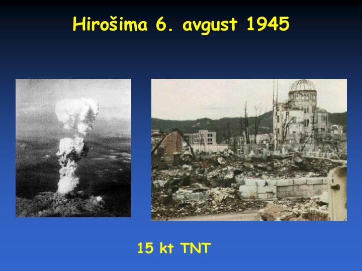 Hirošima 6. avgust 1945