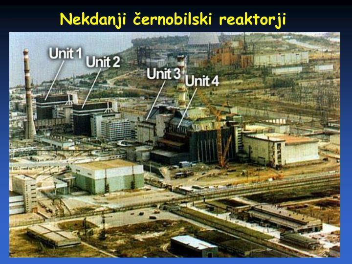 Nekdanji černobilski reaktorji