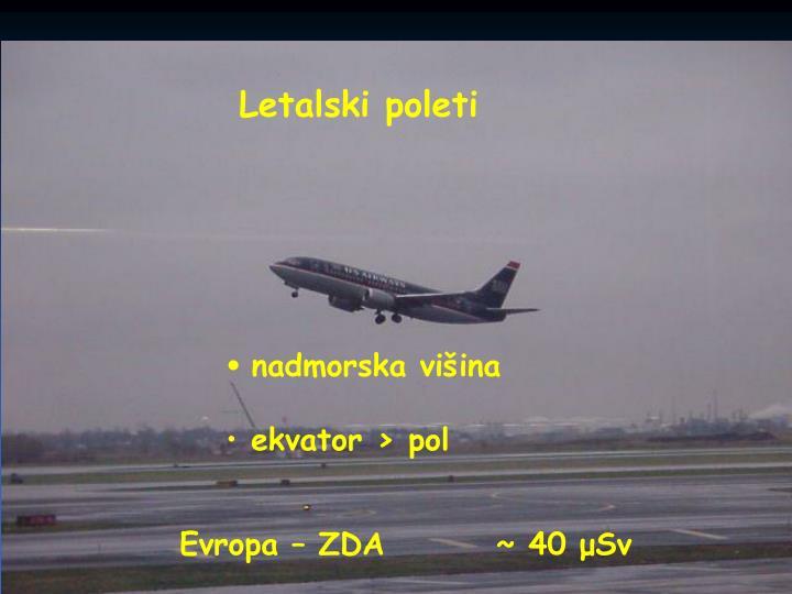 Letalski poleti