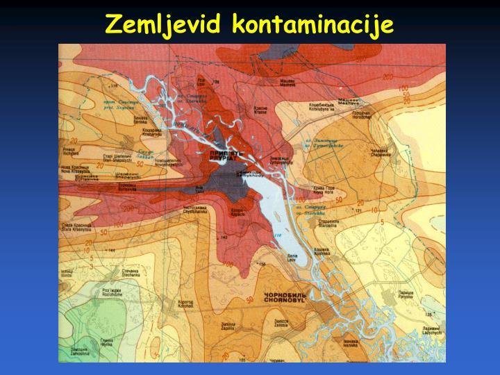 Zemljevid kontaminacije