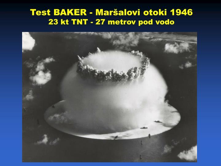 Test BAKER - Maršalovi otoki 1946