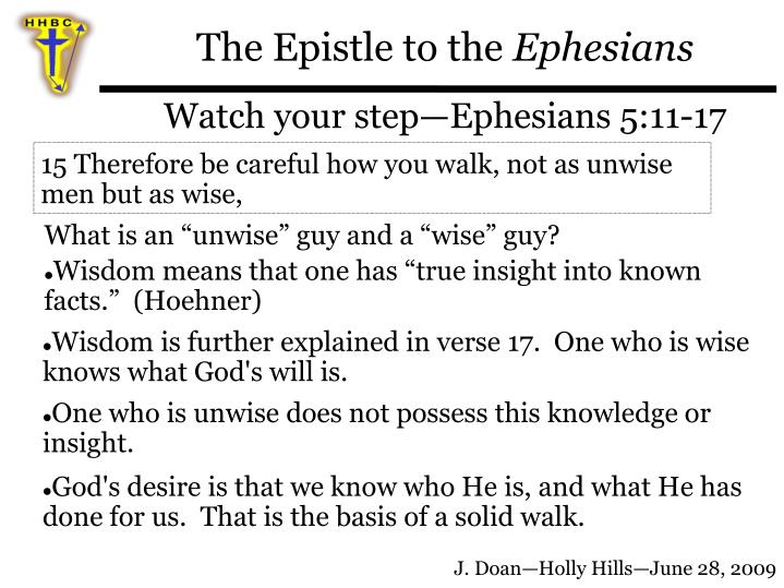 The Epistle to the