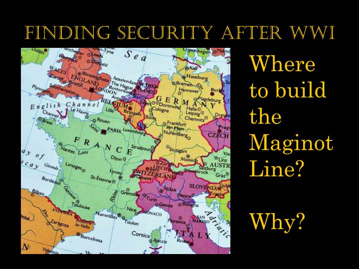 finding security after wwi