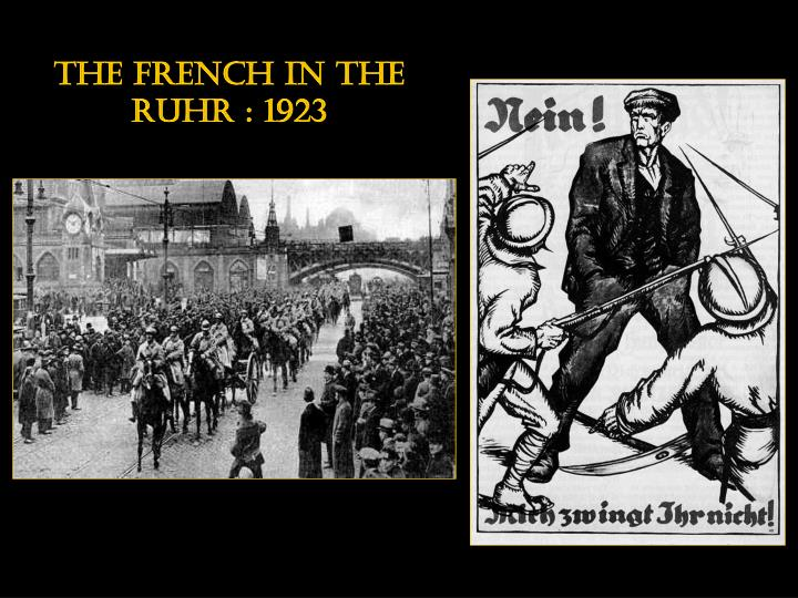 The french in the ruhr : 1923