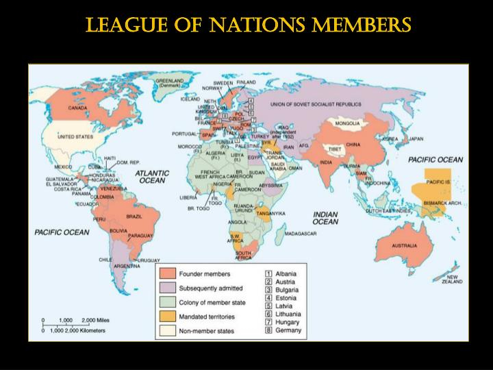 League of nations members
