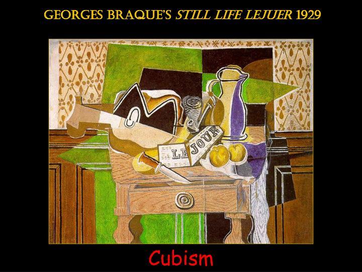 Georges braque's