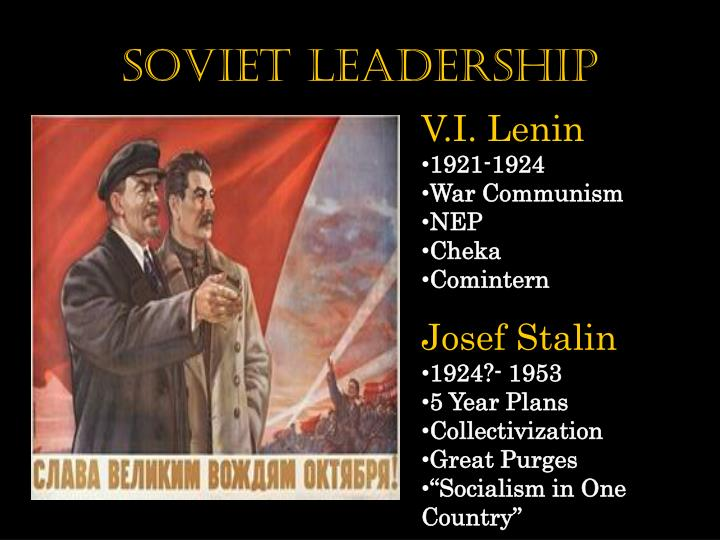 Soviet Leadership