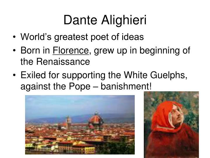 dante alighieri essay topics