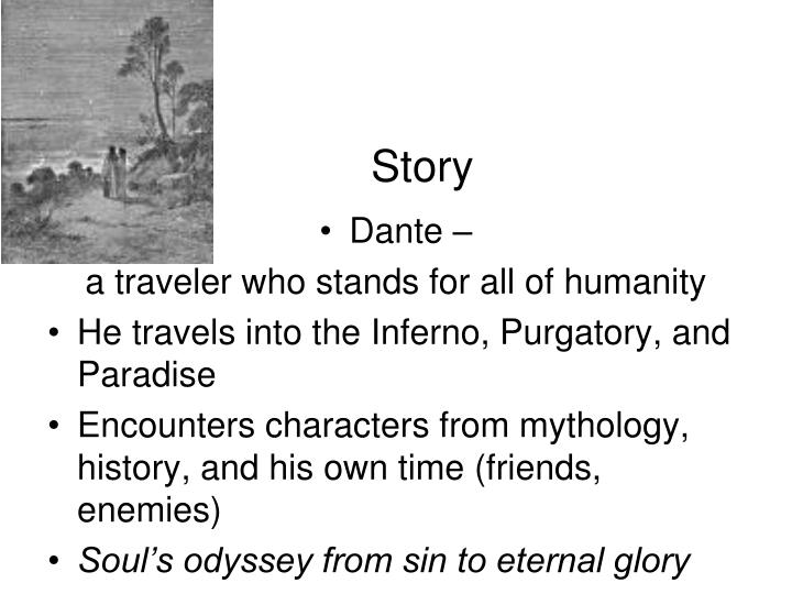 dante inferno spiritual and physical journey correlations The contrast between the spiritual journeys of dante and st augustine is that augustine's journey is more confessionary, but dante's one is more psychological st augustine and dante as the lovers of beauty, both literary and physical, share the same need for its ransom.