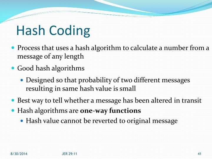 Hash Coding