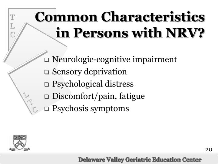 Neurologic-cognitive impairment