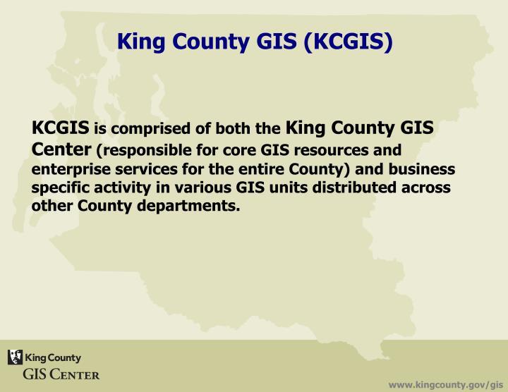 King County GIS (KCGIS)