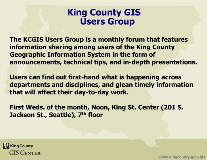 King County GIS
