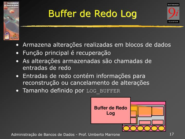 Buffer de Redo Log