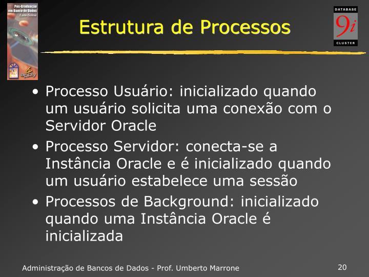 Estrutura de Processos