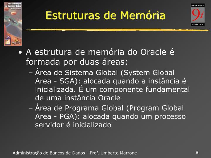 Estruturas de Memória