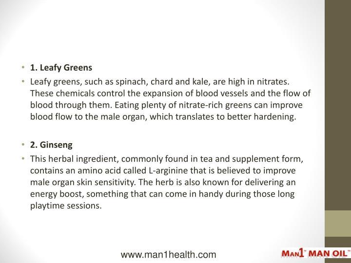 1. Leafy Greens