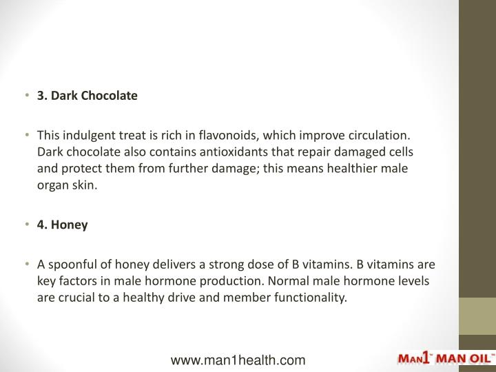 3. Dark Chocolate
