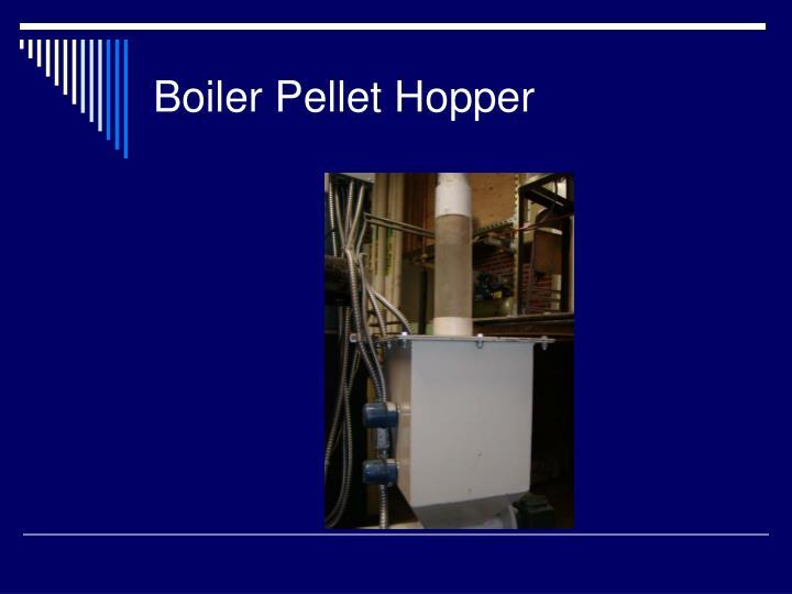 Boiler Pellet Hopper